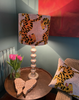 Tiger Velvet Silk lampshade