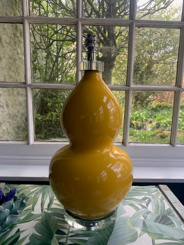 Fabulous Yellow Ceramic Lamp