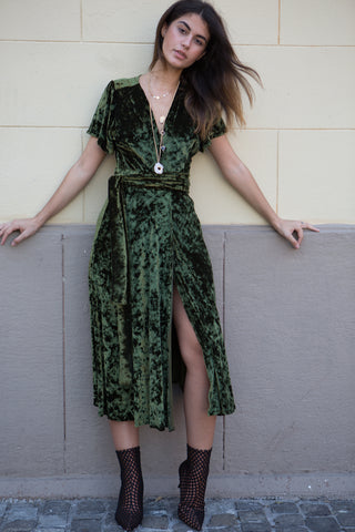 Moon Child Velvet Dress