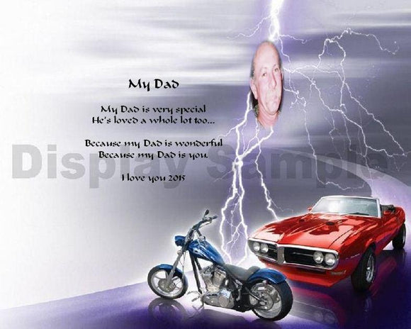 Father's Day, My Dad gift, Dad, Dad gift, Create a poem for Dad