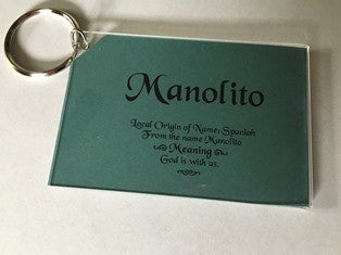Personalized Keychain With Meaning With Name - $6.99