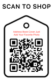 Shop Scan Code, Add Your Photo Address Book, Personalized Unique Gifts