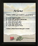 Acrostic poem maker, rose on beach background make your own acrostic name poem gifts, personalized-unique-gifts, personalized gifts, personalize gifts