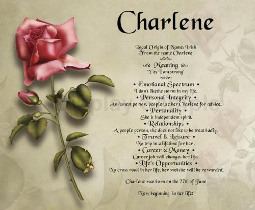 Name Of Charlene, create your own words in Name meaning, write my own words, name meaning in your own words, design your name, personalized-unique-gifts