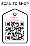 Shop Scan Code, Classroom Memory, Personalized Unique Gifts