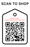 Shop Scan Code, Create A Poem, Personalized Unique Gifts