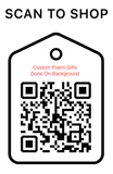Shop Scan Code, Custom Poems Print, Personalized Unique Gifts