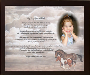 Create a poem in your own words, My Very Special Special Dad, grief gift, love one pass away, poem gift, poetry, personalized-unique-gifts