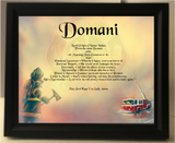 Domani, name meaning, name, meanings of name, baby name, personalized-unique-gifts.com