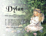 Acrostic Baby Name Poem, Dylan, name poem, baby gift, personalized-unique-gifts, personalize gifts, personalized gifts