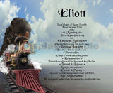 Eliott, first name meaning, name gift, Personalized-Unique-Gifts, personalize gifts, personalized gifts