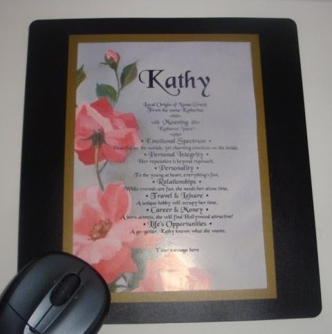 Personalized Name Mouse Pad - $19.99