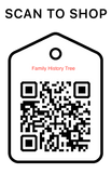 Shop Scan Code, Family History Tree, Personalized Unique Gifts