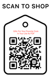Shop Scan Code, Gift For Your Favorite Cook in life as PDF, Personalized Unique Gifts