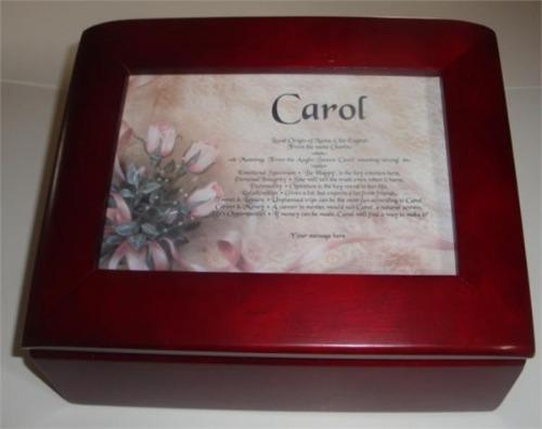 First Name Meaning With Jewelry Box - $55.99