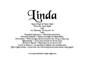 Linda, name meaning by email, name gift, gift by email, personalized-unique-gifts, personalized gifts, personalize gifts
