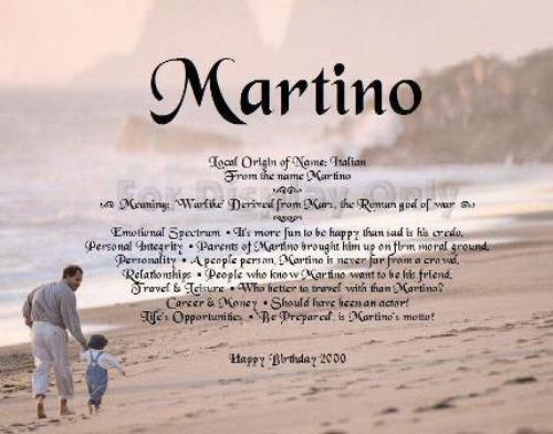 Name Gift, meanings of name, Martino, what in my name, Personalize Gifts, Personalized Gifts, personalized-unique-gifts.com