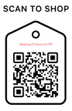 Shop Scan Code, Meaning Of Name PDF, Personalized Unique Gifts