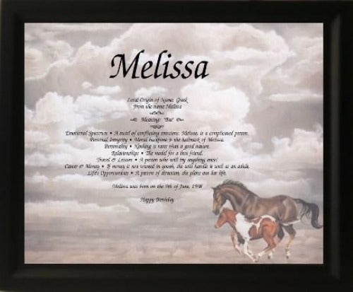 name gifts, Melissa name, meanings of name, baby name, Personalize Gift , Personalized Gifts, Design Gifts, personalized-unique-gifts