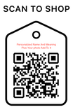 Shop Scan  Code, Personalized Name And Meaning, Personalized Unique Gifts