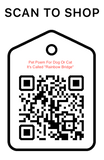 "Shop Scan Code, Pet Poem For Dog Or cat it's Called ""Rainbow Bridge"", Personalized Unique Gifts"