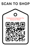 Shop Scan Code, Professional Organizer For School Or Work, Personalized Unique Gifts