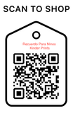 Shop Scan Code, Recuerdo Para Ninos Kinder Prints, Personalized Unique Gifts