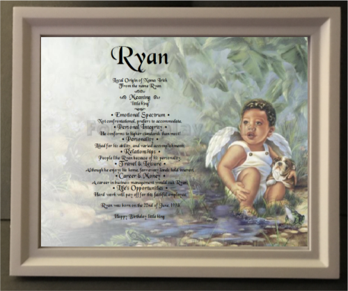Random names personalized unique gifts ryan name meaning name meanings of name baby name personalized negle Choice Image