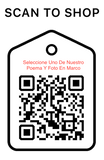 Shop Scan Code, Seleccione Uno De Nuestro Poema Y Foto En Marco, Personalized Unique Gifts