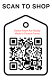 Shop Scan Code, Select Poem Are Ready Made In Picture Frame, Personalized Unique Gifts