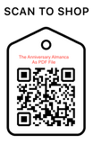Shop Scan Code, The Anniversary Almaca As PDF File, Personalized Unique Gifts
