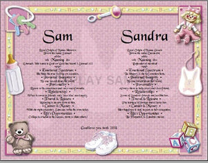 Twin boys and girls names, Two names together with meaning on background, Two names together with meaning on background, couple two together, personalized-unique-gifts.com