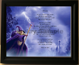 Miracles poem with wizard, Create Your Memories Poetry in Wooden Frame, poetry gift,create a poem in frame, personalized-unique-gifts, personalized gifts, unique idea gift, personalize gifts
