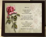 Create Your Memories Poetry in Wooden Frame, poetry gift,create a poem in frame, personalized-unique-gifts, personalized gifts, personalized unique gifts