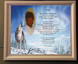 memorial gift, your own written poem gift, grief Gifts, Personalized Gifts, personalized-unique-gifts.com