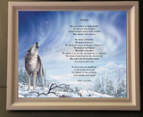 Create Your Memories Poetry in Wooden Frame, poetry gift, personalized-unique-gifts