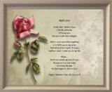 Create Your Memories Poetry in Wooden Frame, poetry gift, personalized-unique-gifts.com