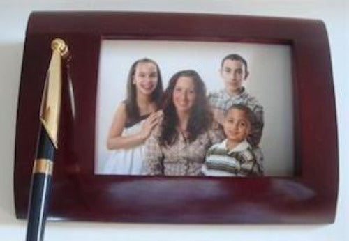 Personalized Photo Wooden Pen Set - $29.99