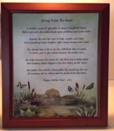 Create Your Memories Poetry in Wooden Frame, poetry gift,create a poem in frame, personalized-unique-gifts, personalized gifts, personalized unique gifts, personalize gifts