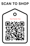 Shop Scan Code, Your Family Tree, Personalized Unique Gifts