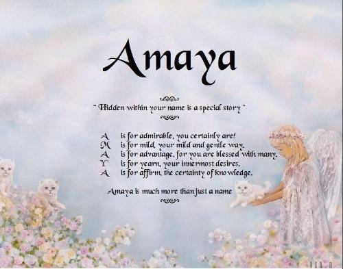 Name Poem for kids, Amaya, poem name, spell out each of name, personalized gifts, personalized-unique-gifts, personalize gifts