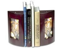 Cherry Wooden Bookends - $53.99