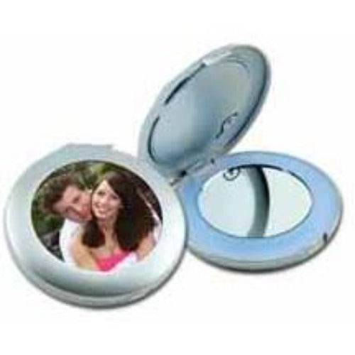 Lighted Compact Mirror, lady gifts, photo gift item