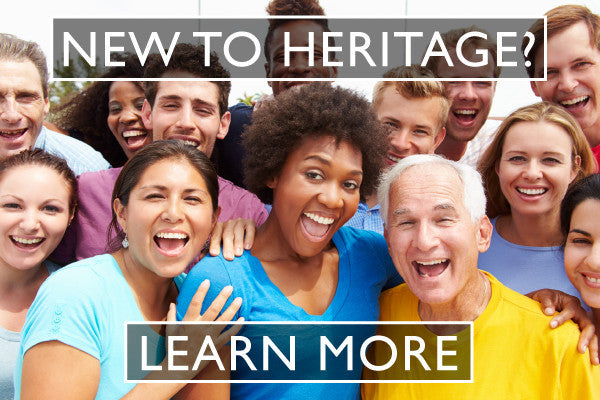 NEW TO HERITAGE?