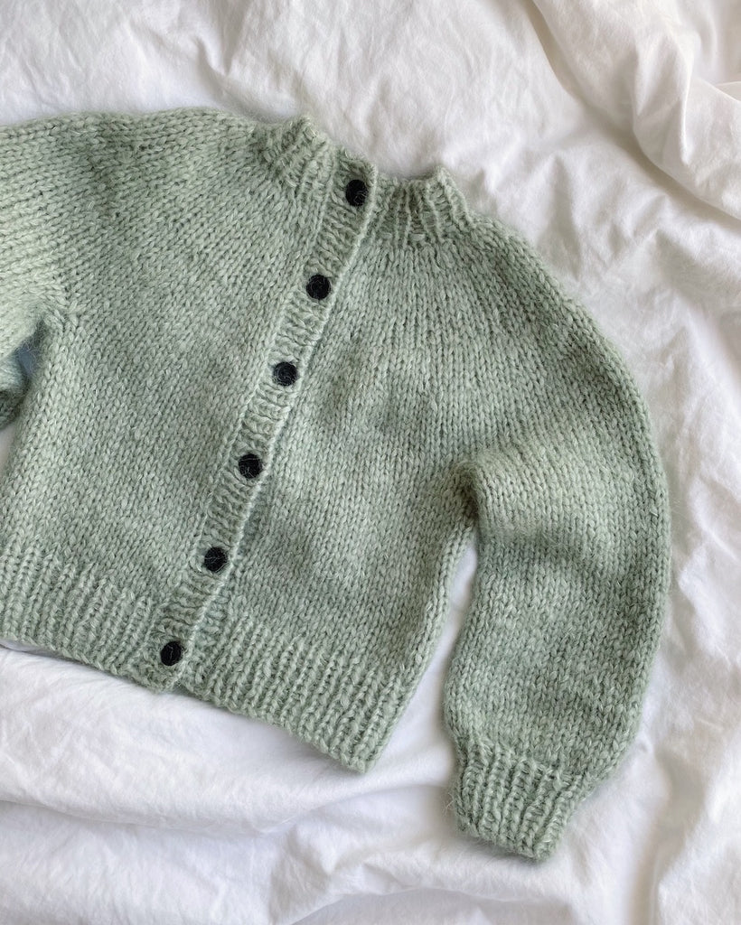 Novice Cardigan Mini - Chunky Edition