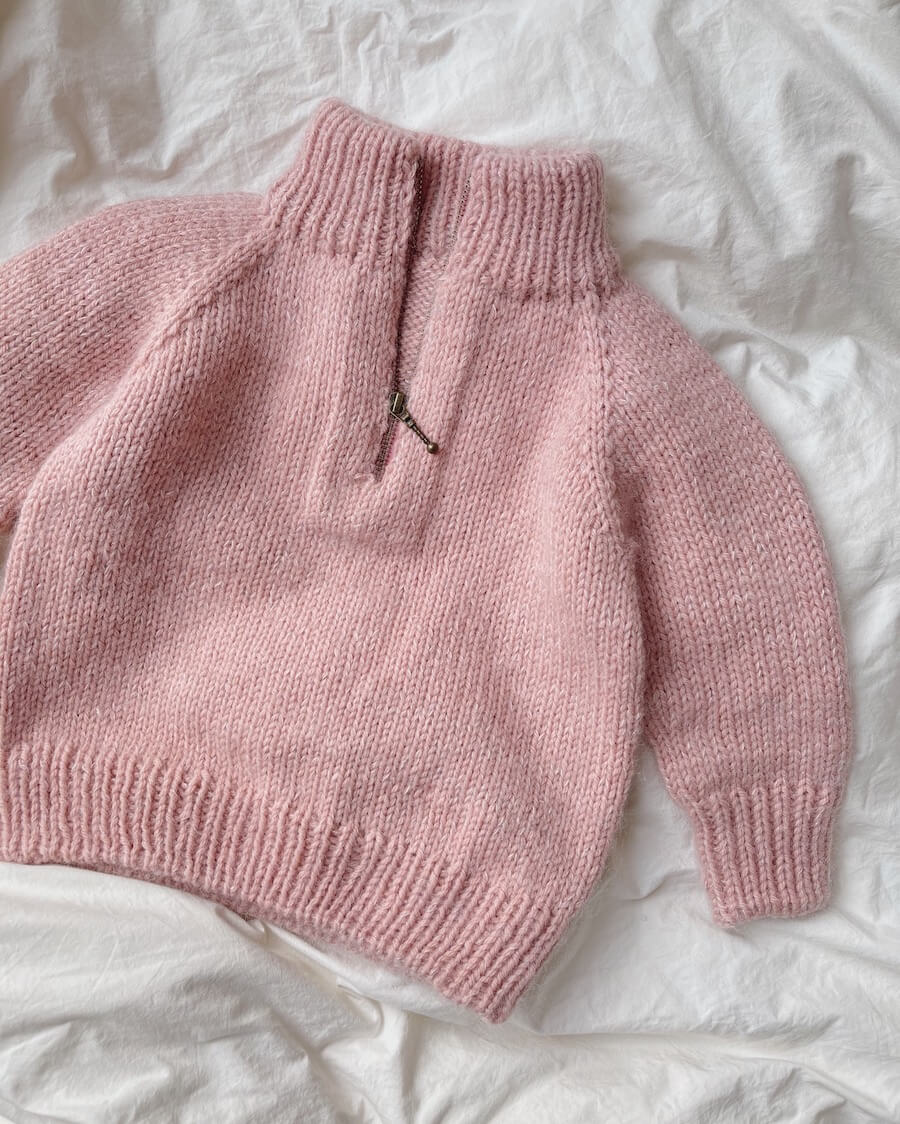 Zipper Sweater Junior