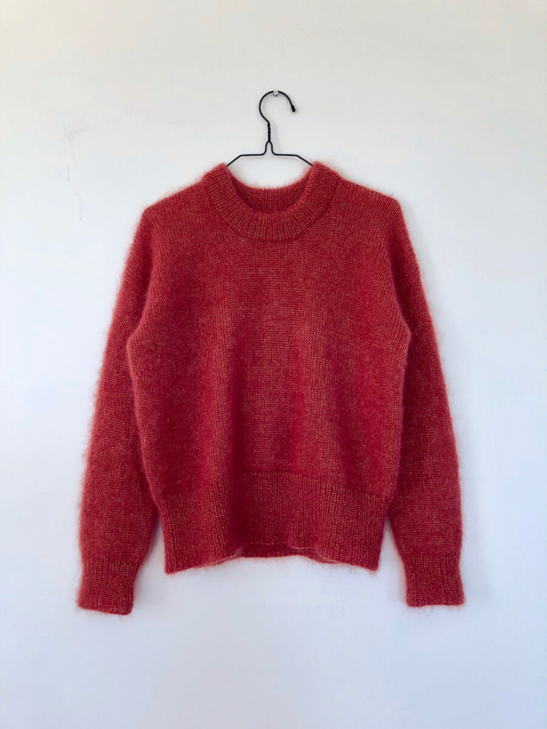 RødBrun Strik Sweater
