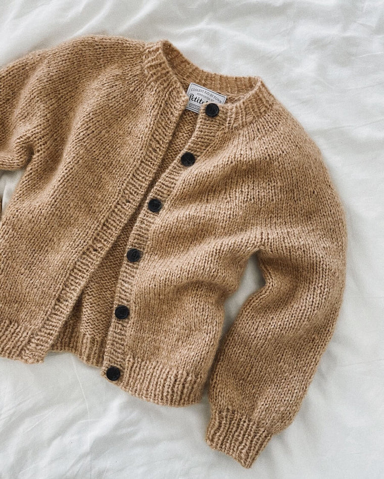 Sorte knapper til Novice Cardigan Mini & Junior - Chunky Edition