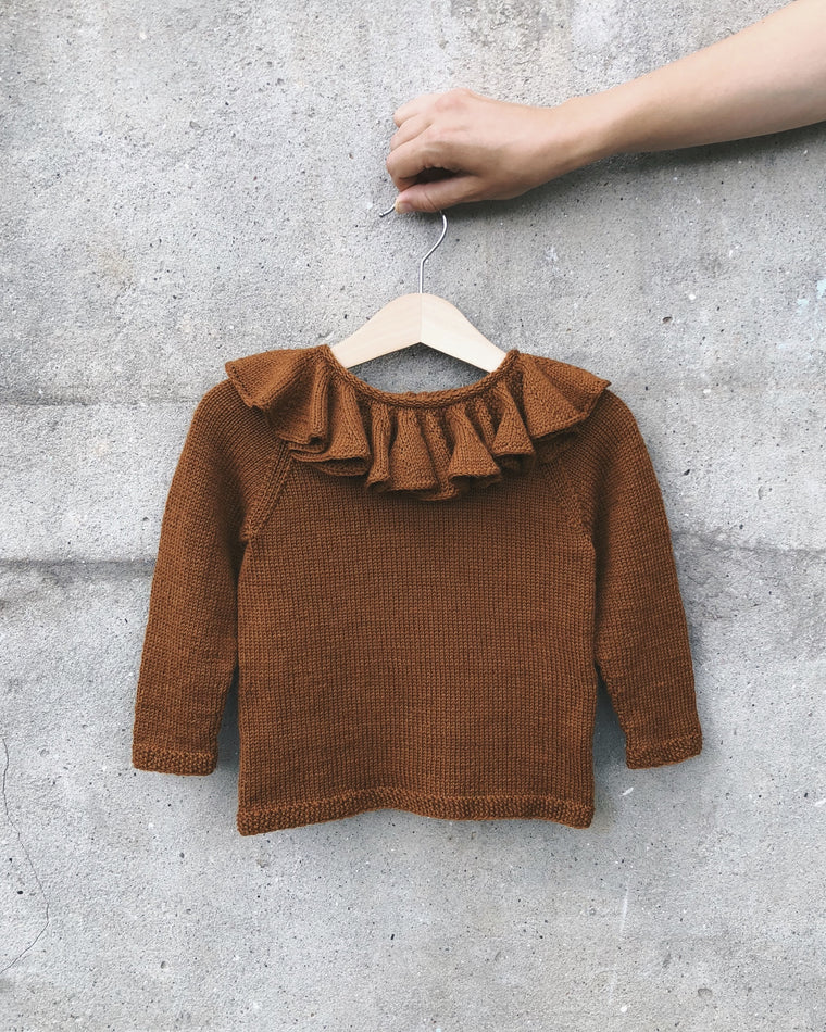 Karen's Ruffle Sweater