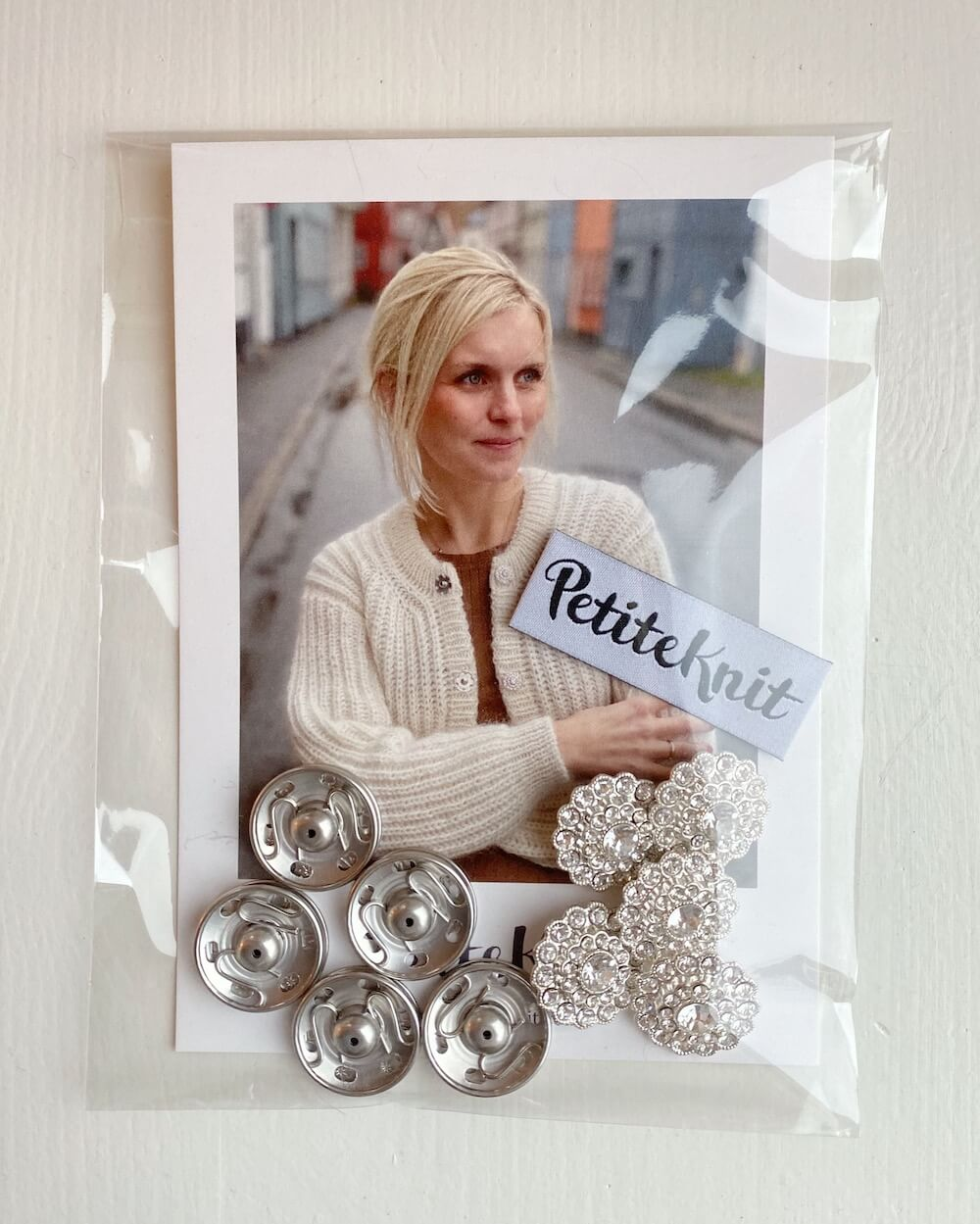 Blingknapper til September Jakke // Bling Buttons for September Jacket